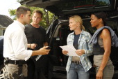 CHASE 'Under the Radar' Episode 102 Pictured Jesse Metcalfe as Luke Watson Cole Hauser as Jimmy Godfrey Kelli Giddish as Annie Frost Rose Rollins as...