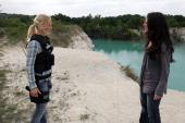CHASE 'Under the Radar' Episode 102 Pictured Kelli Giddish as Annie Frost Yara Martinez as Karen Nelson