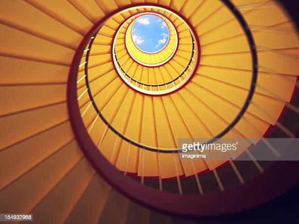 Sous les escalier