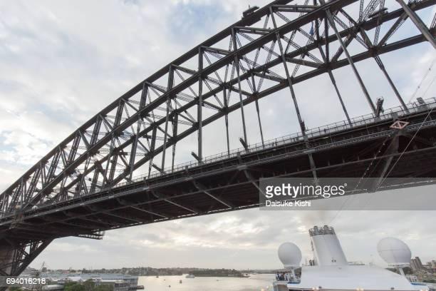 Under the Sydney Harbor Bridge, Australia