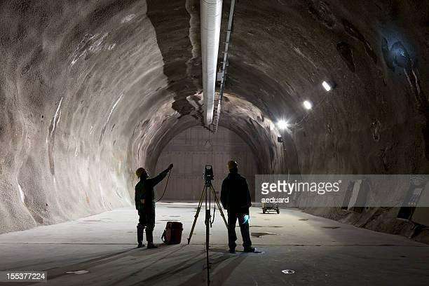 Underground mining worker