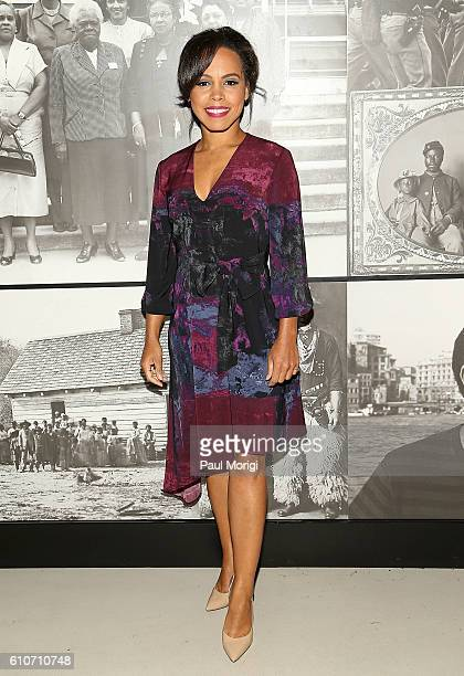 'Underground' star Amirah Vann attends WGN America's 'Underground' screening and panel discussion the inaugural public program of Smithsonian's...