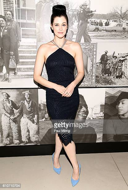 'Underground' star Jessica de Gouw attends WGN America's 'Underground' screening and panel discussion the inaugural public program of Smithsonian's...