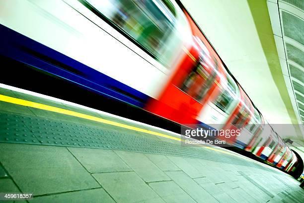 Underground Train London