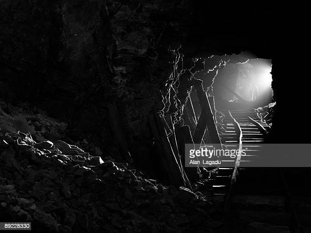 Underground tunnel,Jersey.