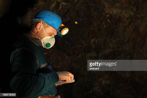 Underground worker