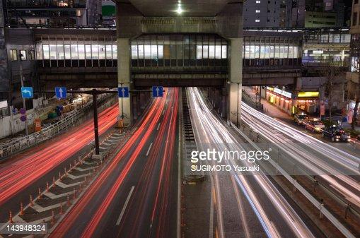 Underpass at Shibuya : Stock Photo