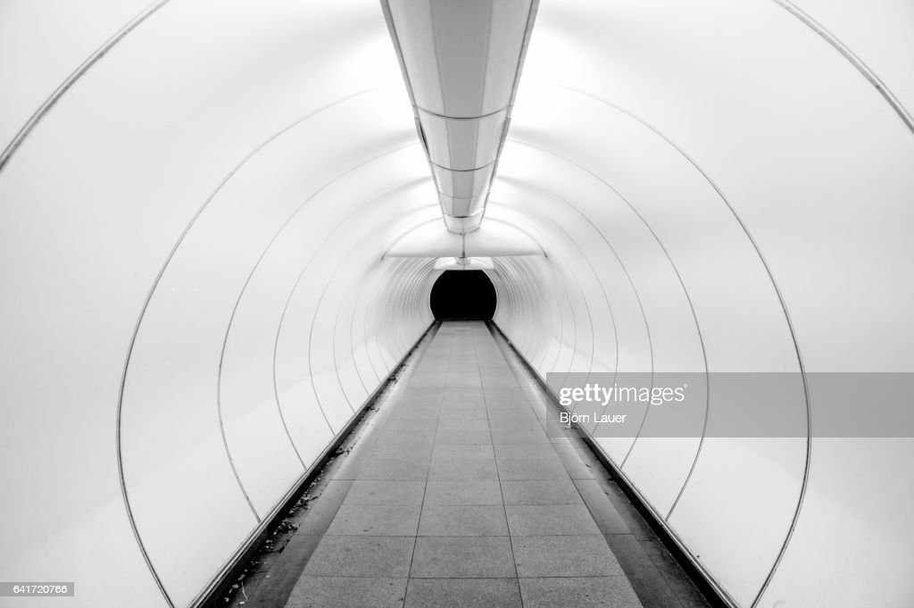 underpass in Singapore : Stock Photo