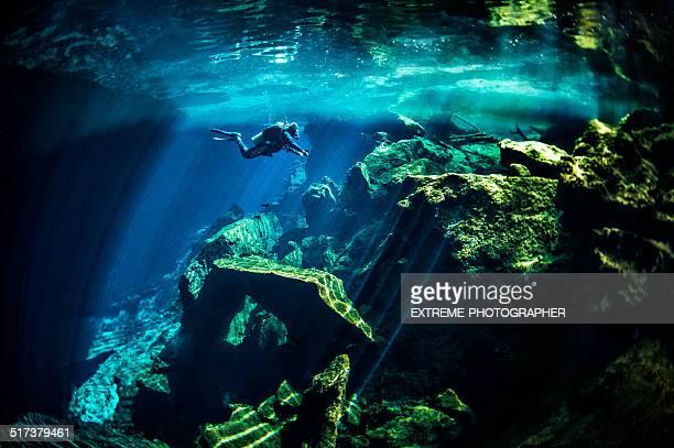 Cénotes de sous-marine