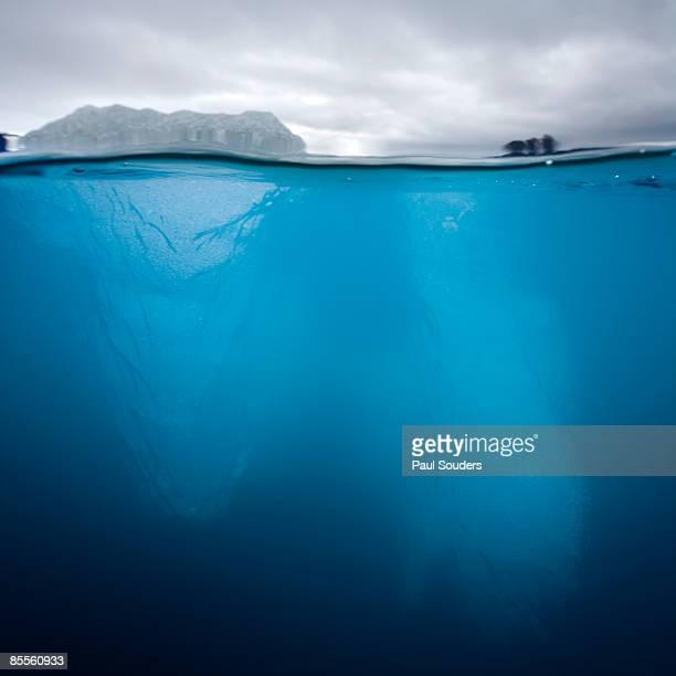 Underwater Iceberg, Svalbard, Norway