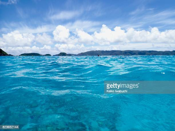 Underwater in Okinawa, Japan