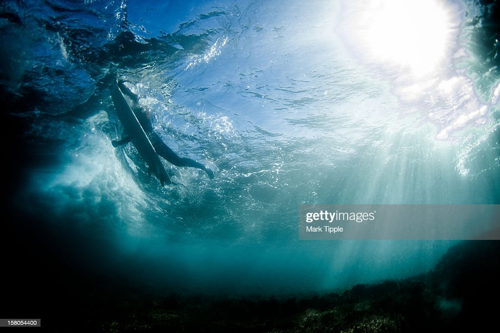 Underwater light : Stock Photo