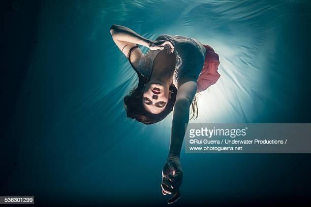 Underwater model action