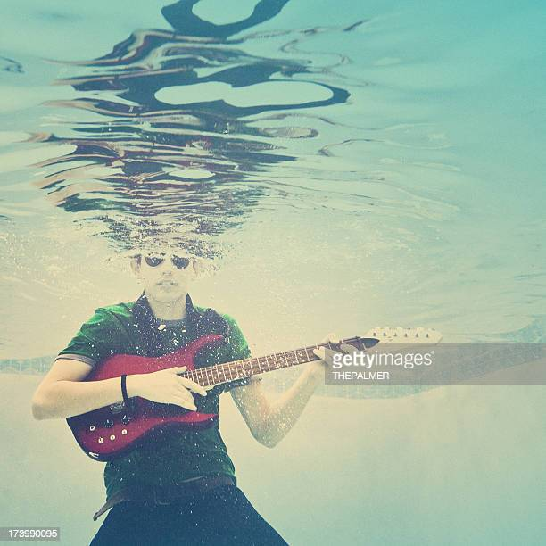 underwater rock and roll