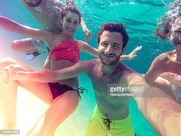 Selfie sous-marine
