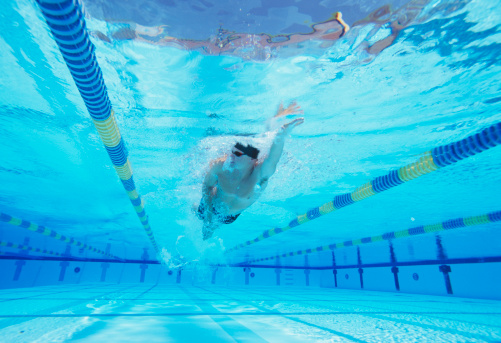 Swimming Lane Marker Stock Photos And Pictures Getty Images