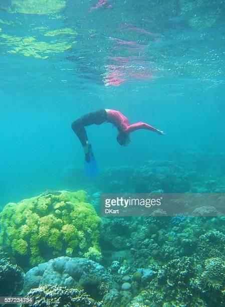 Unterwasser-Yoga
