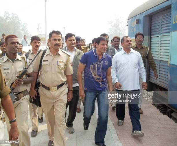 Underworld don Abu Salem was taken to the district jail after he reached Azamgarh district from Mumbai by train on Sunday evening He has been taken...