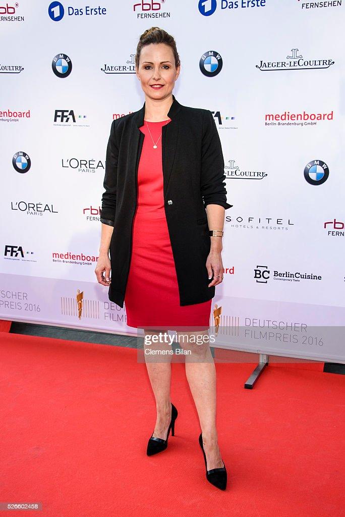 Undine Filter attends the nominee dinner for the German Film Award 2015 Lola (Deutscher Filmpreis) on April 30, 2016 in Berlin, Germany.