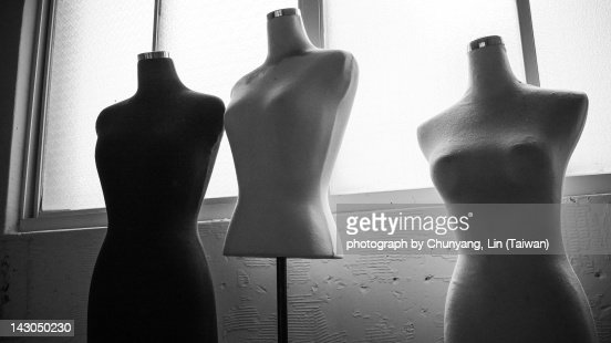Undressed models : Stock Photo