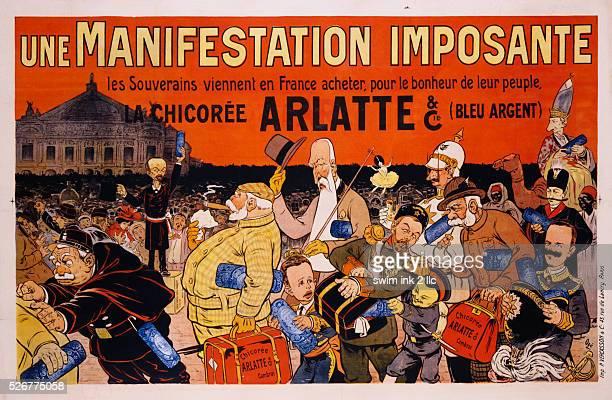 Une Manifestation Imposante Poster by Eugene Oge