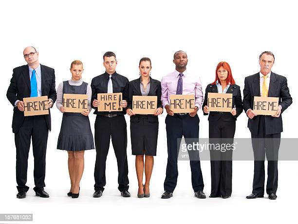 Unemployed Business People