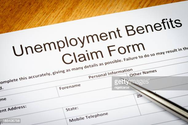 Unemployment Benefits claim form