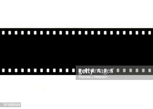 Unexposed 35mm Camera Film Strip Stock Photo | Getty Images