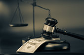 Unfair Justice, Money and gavel