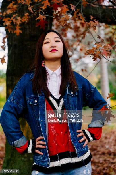 Unfiltered: Portrait of a Chinese young woman