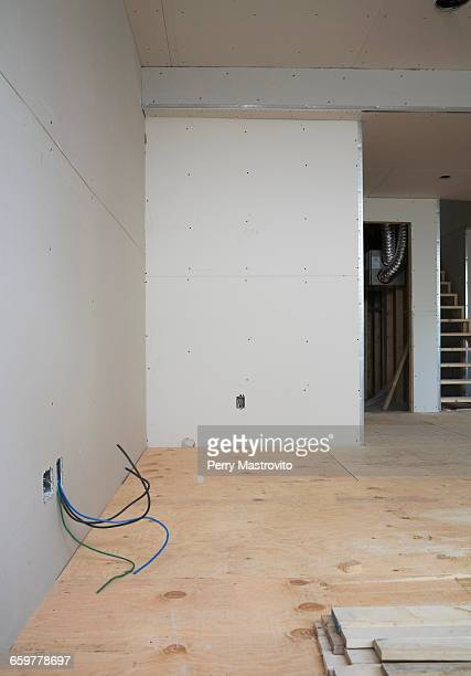 Unfinished Basement room.