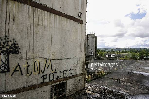 Unfinished remains of the Nuclear Power Plant are seen in Zarnowiec Poland on 9th September 2011 The Zarnowiec Nuclear Power Plant was supposed to be...