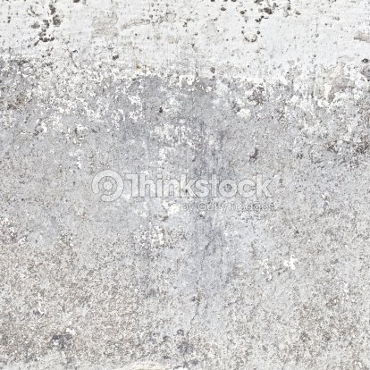 Unfinished White Paint On Plain Concrete Wall Surface Texture Background