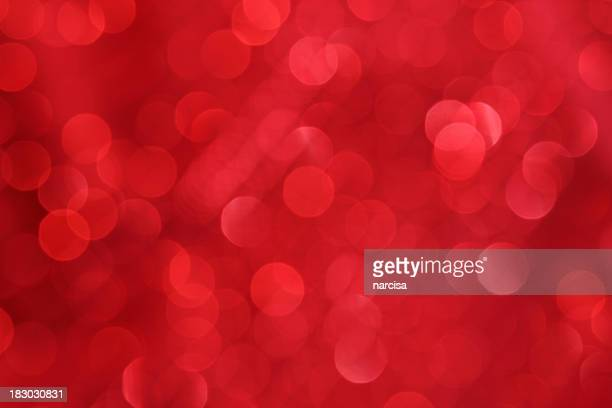 Unfocused red background lights