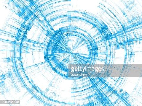 Unfolding of Burst Rotation : Stock Photo