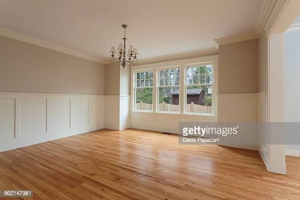 Unfurnished dinning room