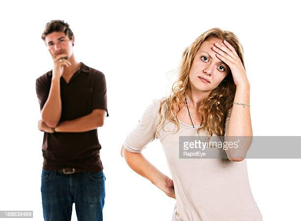 Coppia infelice non può decidere che cosa fare