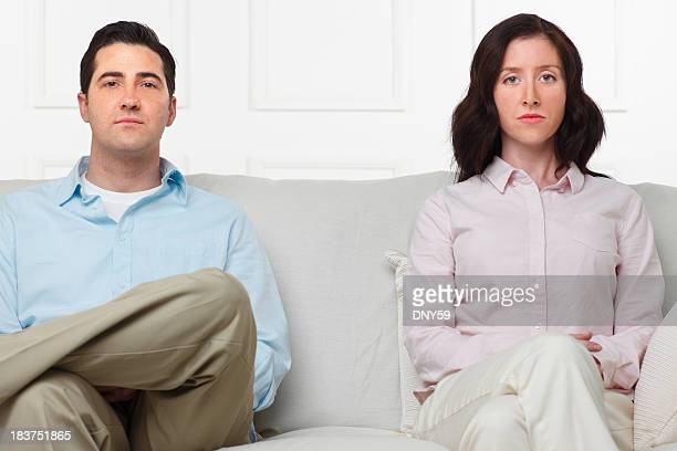 Unhappy Couple