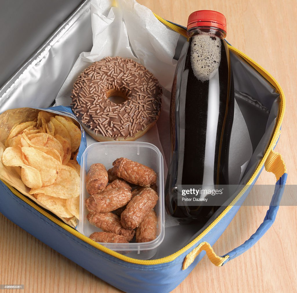 Unhealthy lunch box