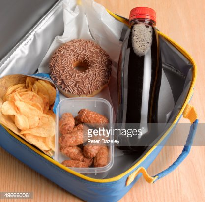 Unhealthy lunch box