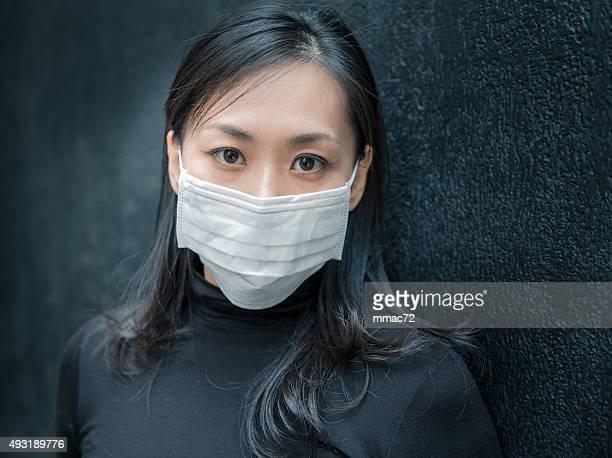 Unhealty Asian Woman