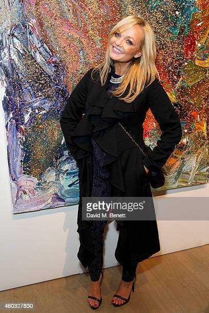 Unicef UK Ambassador Emma Bunton attends Unicef UK's SyriART auction as artworks from leading contemporary artists went under the hammer at Phillips...