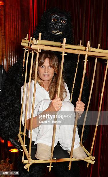 Unicef UK Ambassador Jemima Khan attends the Unicef UK Halloween Ball raising vital funds to help protect Syria's children from danger at One Mayfair...