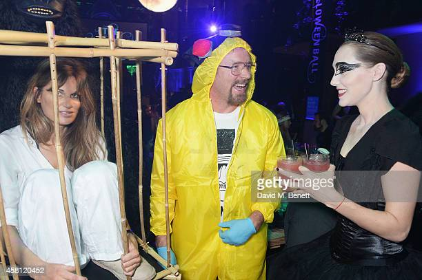 Unicef UK Ambassador Jemima Khan Guy Ritchie and Jacqui Ainsley attend the Unicef UK Halloween Ball raising vital funds to help protect Syria's...