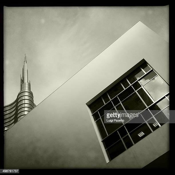 CONTENT] Unicredit tower and Porta Nuova Building Gae Aulenti square Milano Lombardy Italy Milano Expo 2015