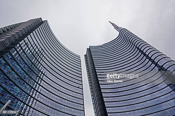 Unicredit tower skyscraper in Milan
