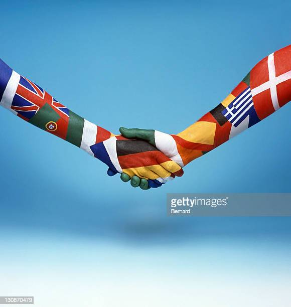 Unification of the European Union by handshake