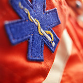 EMT uniform, (Close-up)