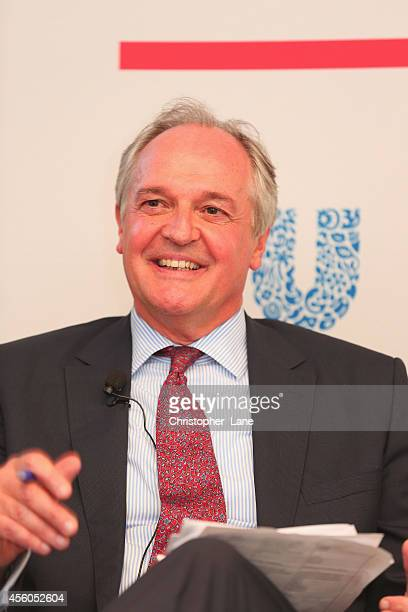 Unilever CEO Paul Polman discusses the role of the private sector in 'Scaling Up Hygiene Programmes for Newborn Survival' at a roundtable dialogue...