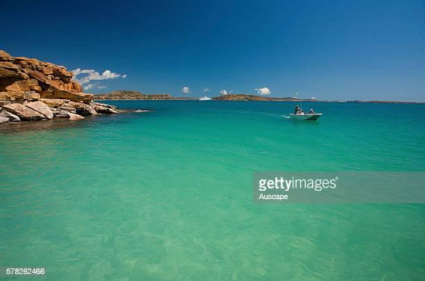 Uninhabited Winyalkan Island of about 193 ha Mudge Bay Montague Sound North Kimberley region Western Australia Australia